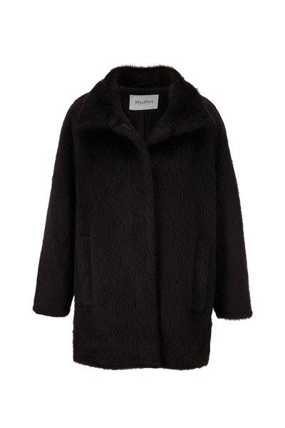 Max Mara - Rete Black Short Coat