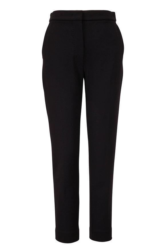 Max Mara Pegno Black Ponte Jersey Pant