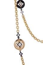Mariani - Yellow Gold Lucilla Diamond Necklace
