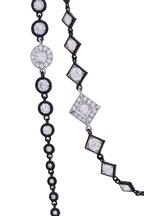 Mariani - Black & White Diamond Necklace