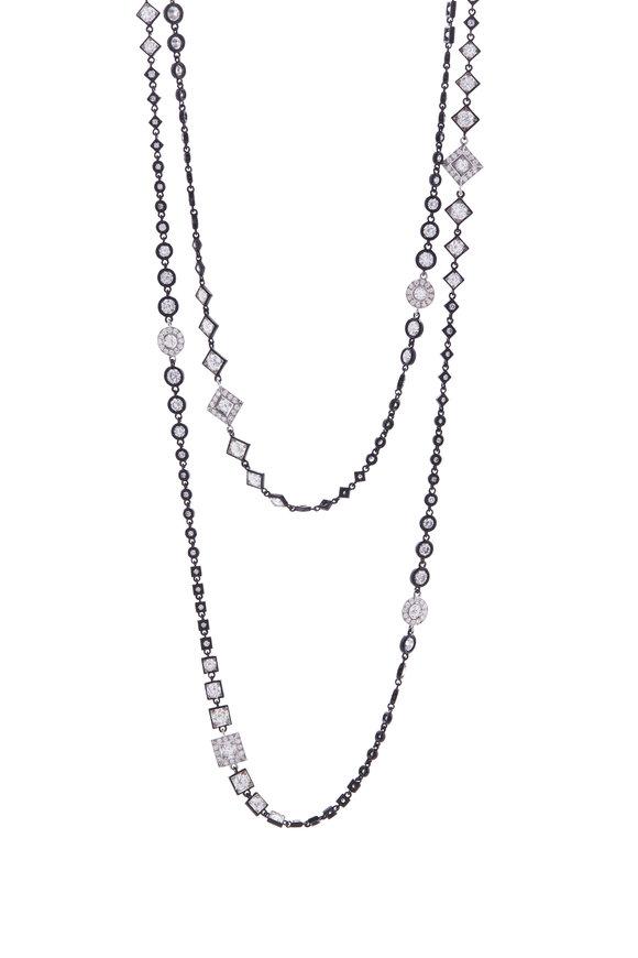 Mariani Black & White Diamond Necklace