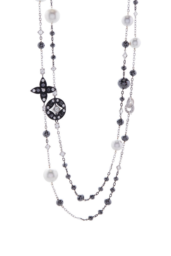 Mariani Lucilla South Sea Pearl & Diamond Necklace