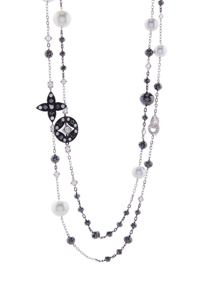 Mariani - Lucilla South Sea Pearl & Diamond Necklace