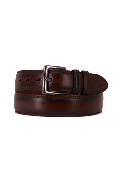 Torino - Cool Brown Leather Jean Belt
