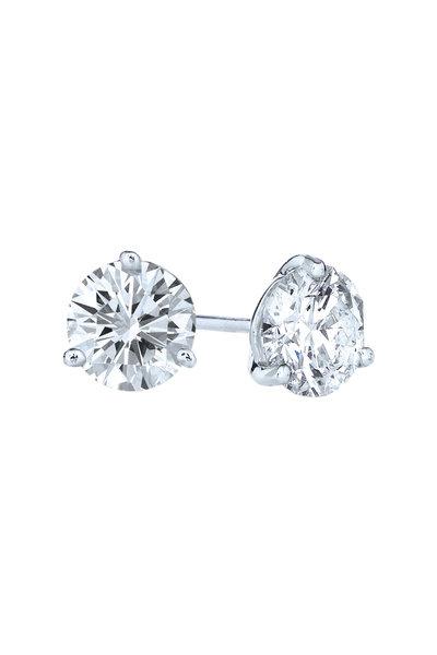Kwiat - Diamond Platinum Studs