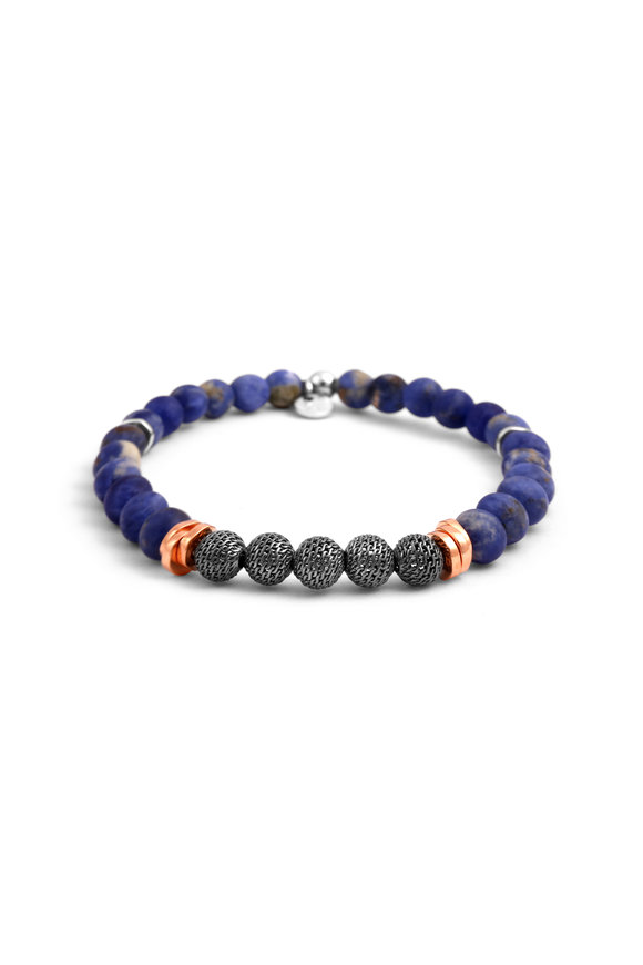 Tateossian Sodalite Bead Bracelet