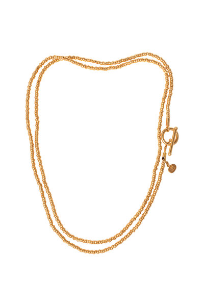Yossi Harari - Yellow Gold Tribe Knotted Necklace