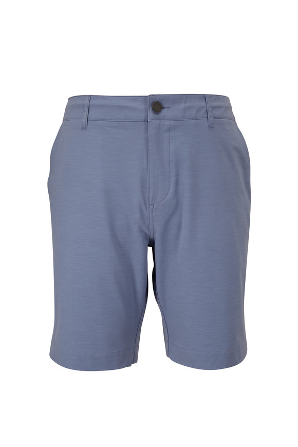 Faherty Brand Belt Loop All Day Atoll Blue Shorts