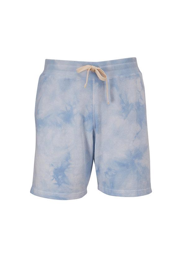 Faherty Brand Pacific Mist Tie-Dye Sweat Shorts
