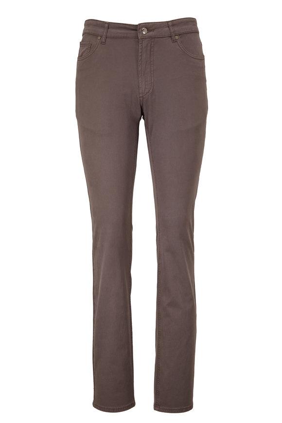 Peter Millar Wayfare Nickle Gray Five Pocket Pant