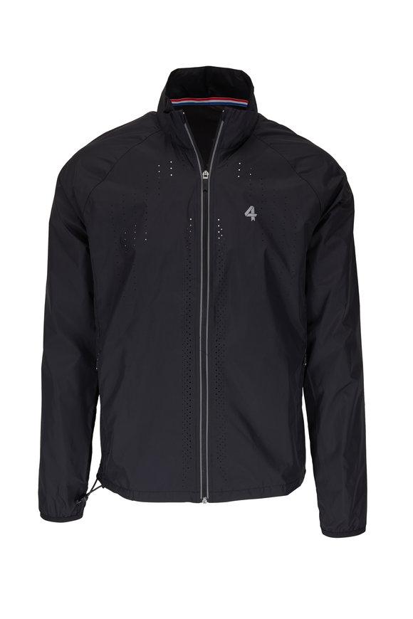 Fourlaps Adapt Run Black Nylon Jacket