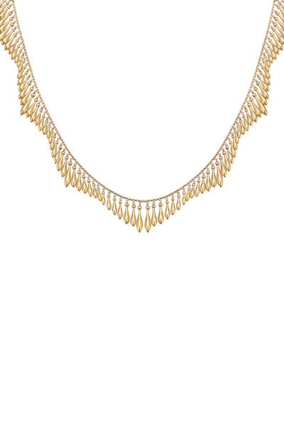 Fred Leighton - Yellow Gold Victorian Fringe Necklace