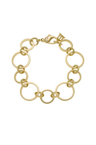 Temple St. Clair - Yellow Gold Celestial Link Diamond Bracelet