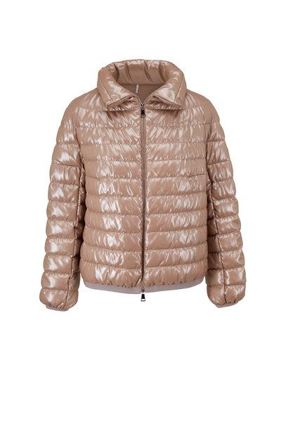 Moncler - Sador Giubbotto Champagne Down Jacket