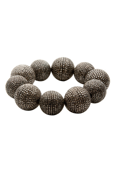 Loren Jewels - Diamond Pave Ball Bracelet