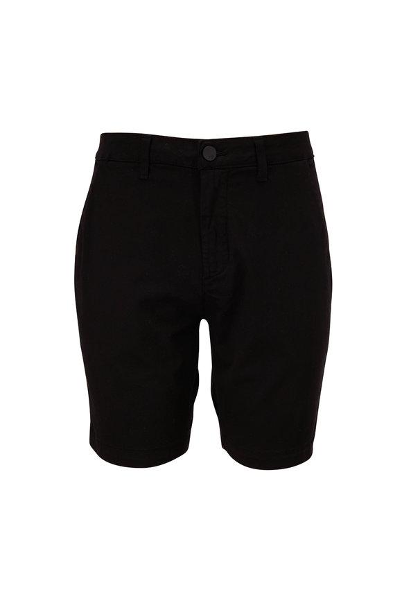 Monfrere Cruise Noir Stretch Cotton Shorts