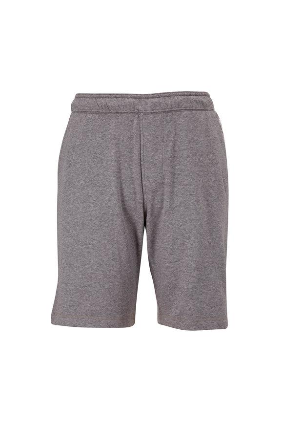 Fourlaps Rush Gray Athletic Shorts