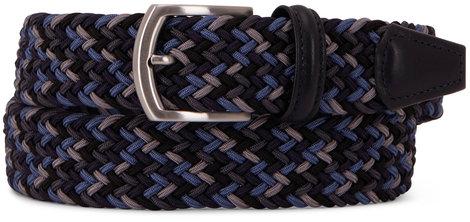 Anderson's Navy & Gray Braided Belt