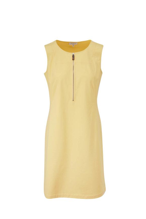 Lafayette 148 New York Audren Sunglow Sleeveless Dress
