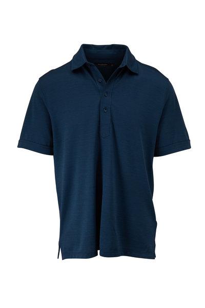 Ermenegildo Zegna - Teal Short Sleeve Polo