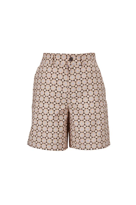 Bogner Noalie Desert Sand Print Techno Stretch Shorts