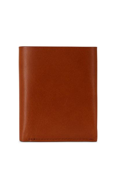 Shinola - Utility Tan Leather Card Wallet