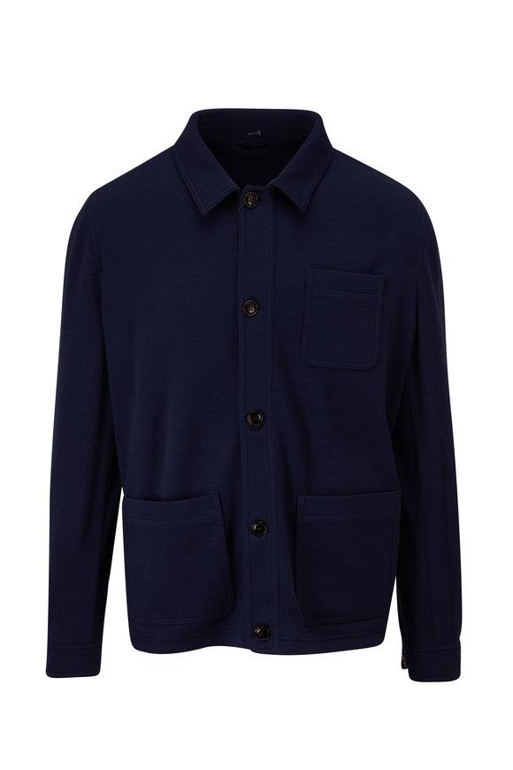 Peter Millar Excursionist Flex Deep Riviera Shirt Jacket