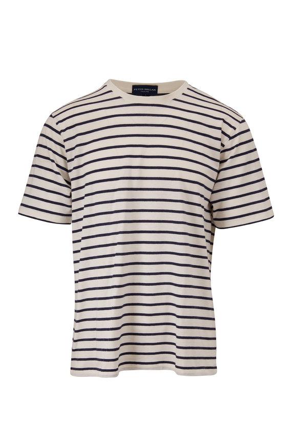 Peter Millar Barchetta & White Stripe T-Shirt