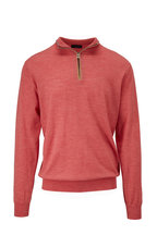 Peter Millar - Cliffside Villa Stretch Wool Quarter-Zip Pullover