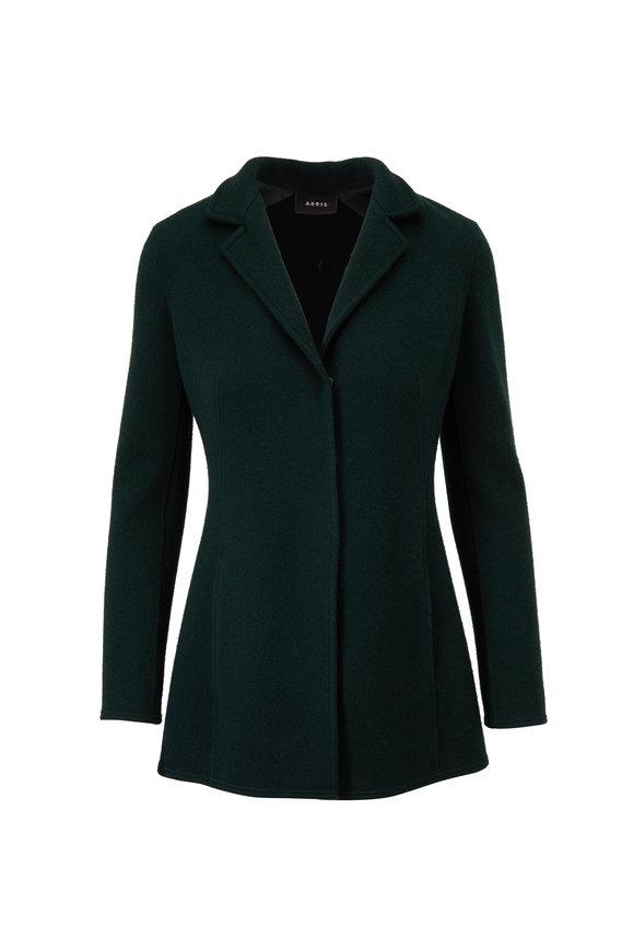 Akris Abigale Emerald Cashmere Jacket