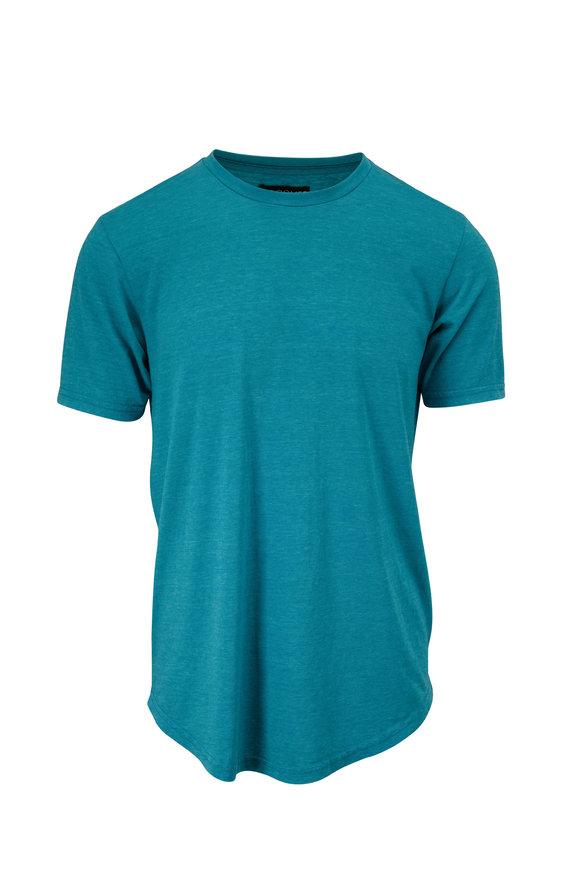 Good Life Enamel Blue Tri-Blend T-Shirt
