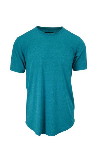 Good Life - Enamel Blue Tri-Blend T-Shirt