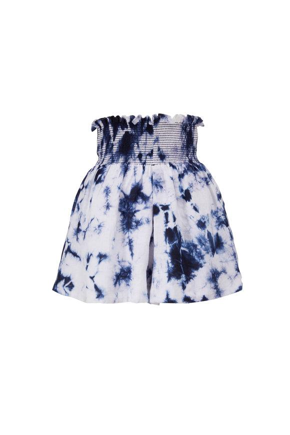 Sachin + Babi Vivi Tie Dye Linen Shorts