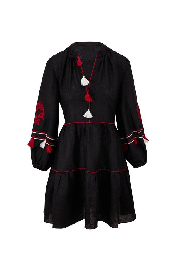 Sachin + Babi Avery Black Long Sleeve Dress