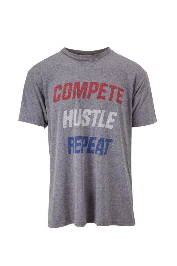 Fourlaps Signature Gray Graphic T-Shirt
