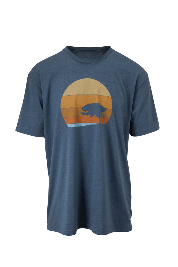 Linksoul The Dunes Indigo Graphic T-Shirt