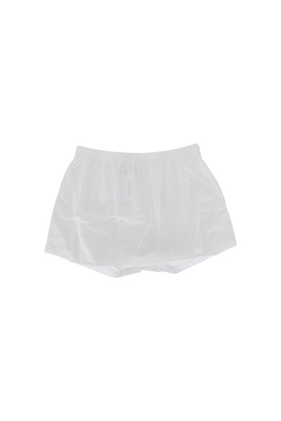 Hanro - White Cotton Boxer Short
