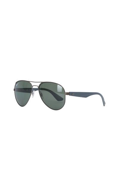 Ray Ban - Pilot Gunmetal Polarized Sunglasses
