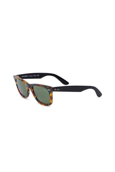 Ray Ban - Original Wayfarer Fleck Tortoise Sunglasses