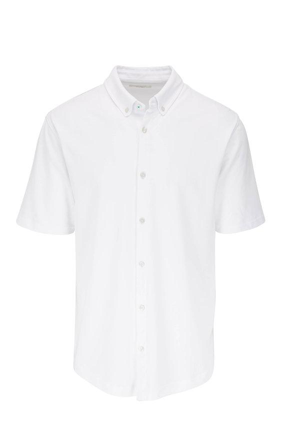 Linksoul Aldo White Button Down Sport Shirt