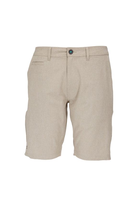 Linksoul Boardwalker Khaki Four Way Stretch Shorts