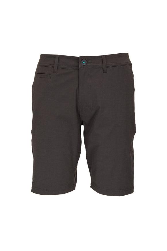 Linksoul Boardwalker Black Four Way Stretch Shorts