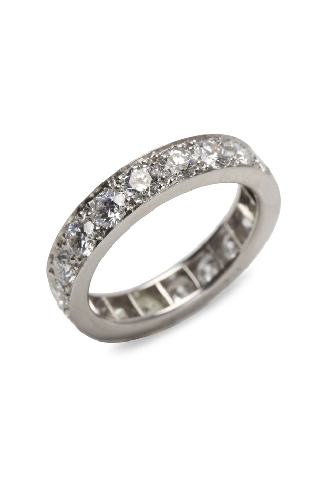 Platinum Diamond Guard Ring