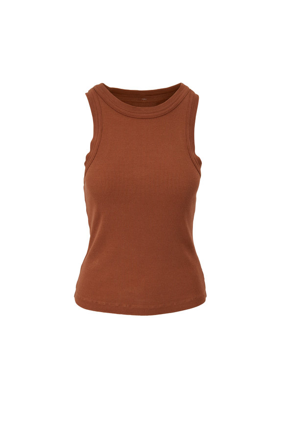 Citizens of Humanity Brown Isabel Tank