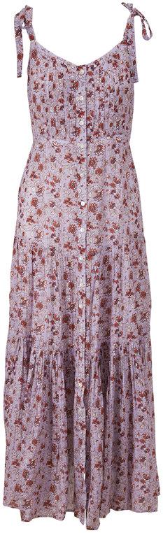 Veronica Beard Windansea Lavender Multi Printed Cover-Up Dress