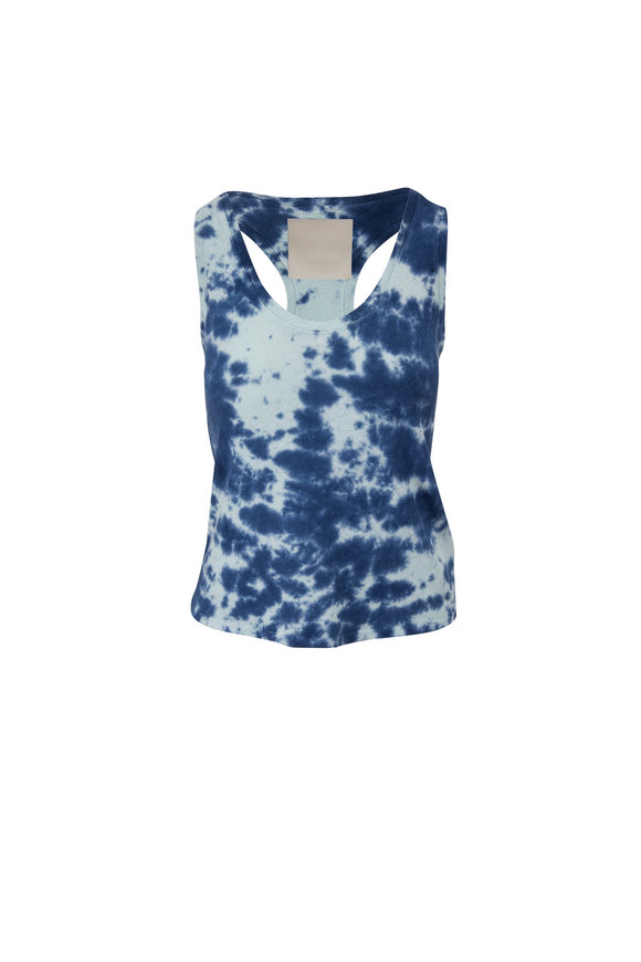 Mother Denim The Breezy Parting The Waters Scoopneck Tank