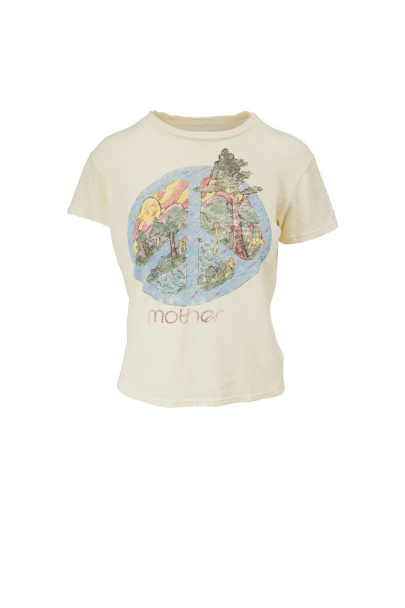 Mother Denim The Sinful Yo, What Happened To Peace T-Shirt
