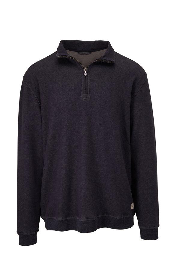 Linksoul Navy Quarter-Zip Pullover