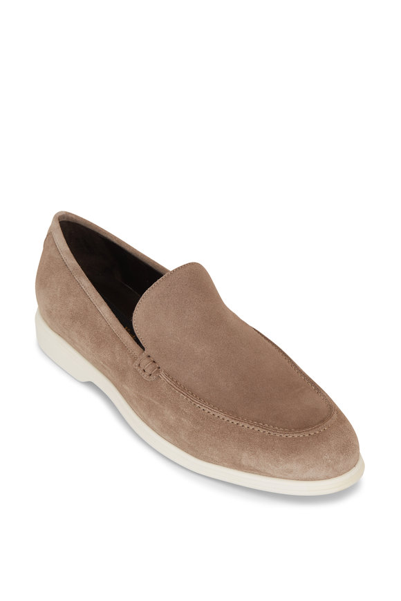 To Boot New York Cassidy Tan Suede Loafer