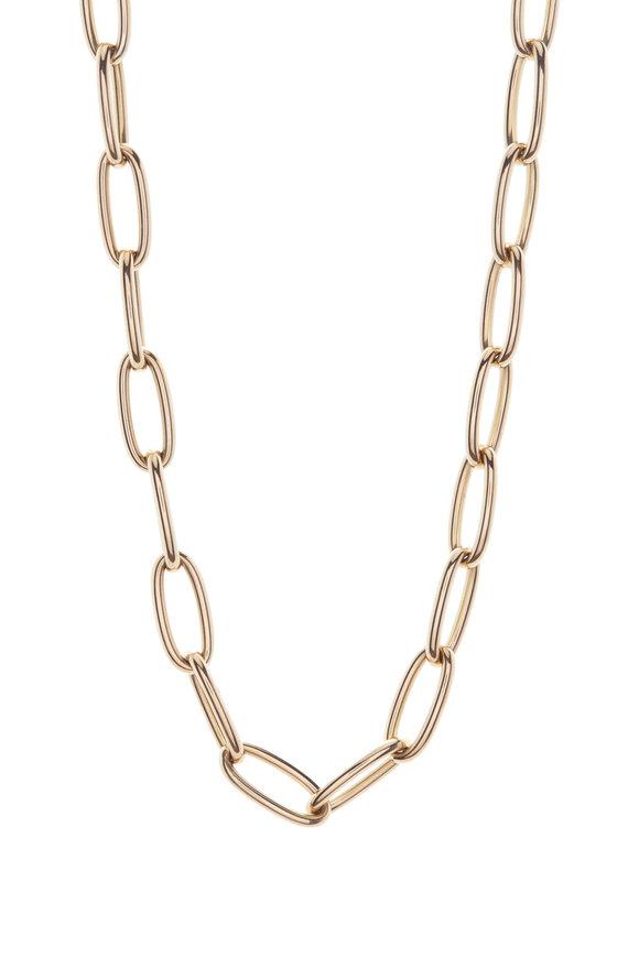 Kai Linz Yellow Gold Jumbo Link Chain